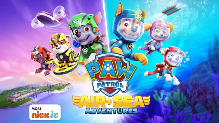 PAW Patrol: Air & Sea screenshot-0