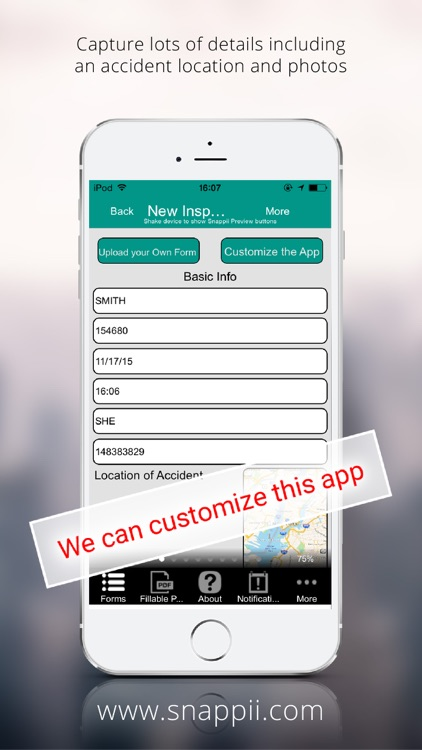 Insurance Adjusters For Auto & Property App
