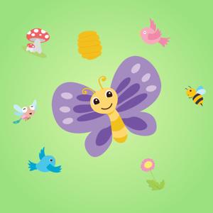 Cartoon Spring Animals app