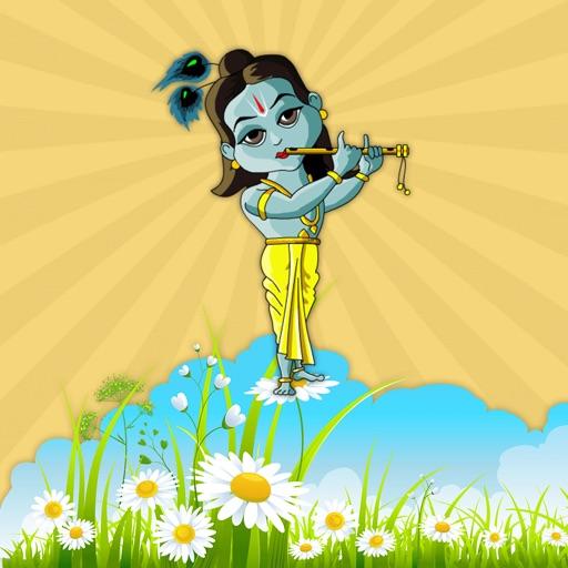 Animated Shree Radha Krishna GIF Stickers