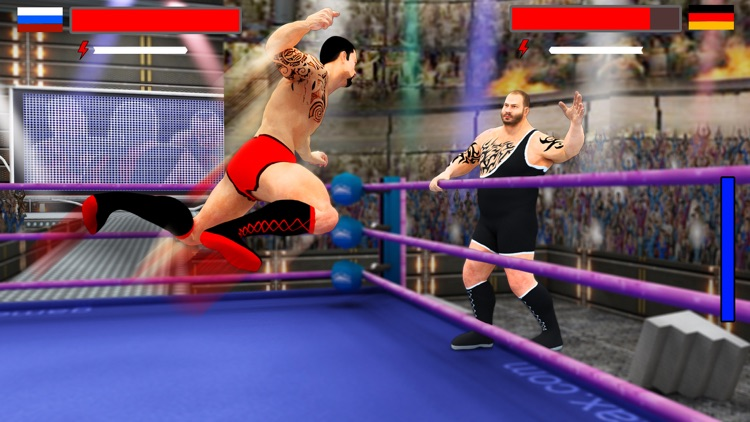 Stars Wrestling Revolution 2017: Real wrestlers screenshot-0