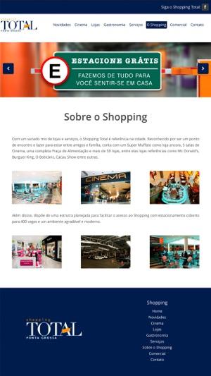 b3a79fdb26 Shopping Total Ponta Grossa na App Store