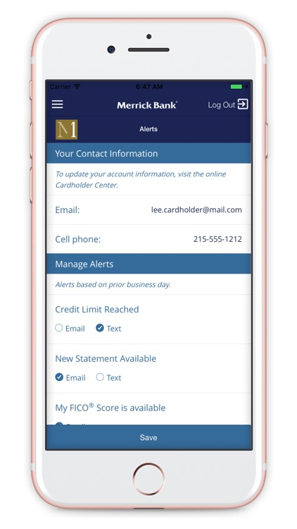Merrick Bank Mobile screenshot-3