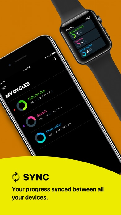 Cycles - Daily Habit Creator Screenshots