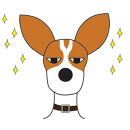 Jack Russel Terrier - Cowboy Dog Sticker