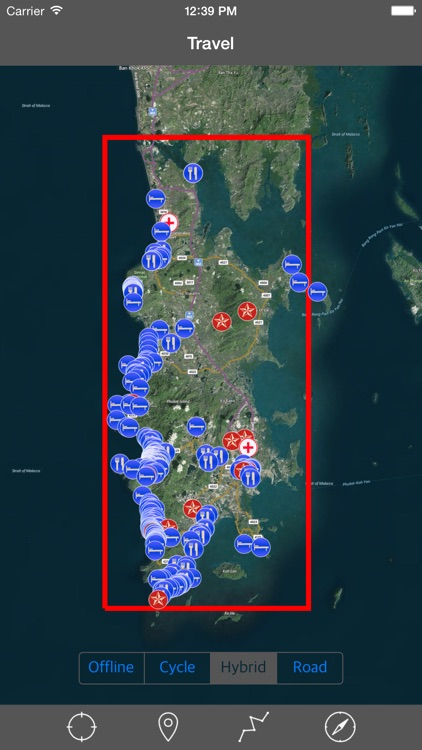 PHUKET ISLAND – GPS Travel Map Offline Navigator screenshot-0