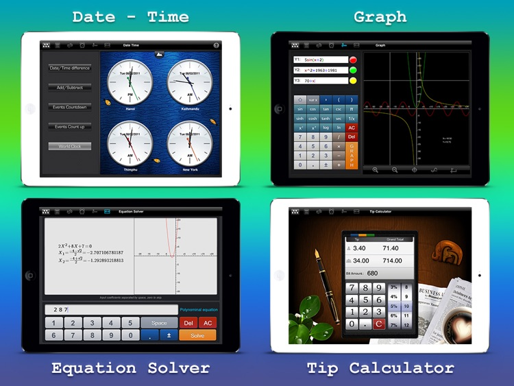 Calculator : Scientific Calculator Unit Converter screenshot-4