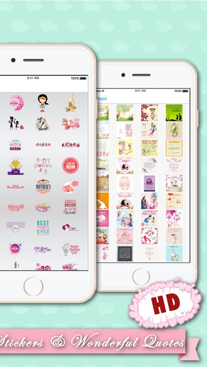 Mother's Day Photo Frames Stickers HD screenshot-3