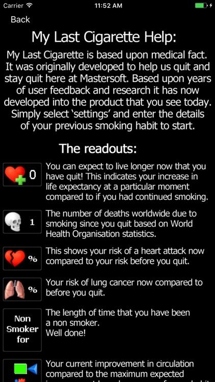 My Last Cigarette - Stop Smoking, Stay Quit! screenshot-3