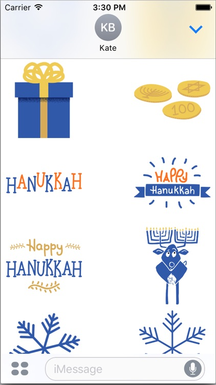 Hanukkah Smiles screenshot-2
