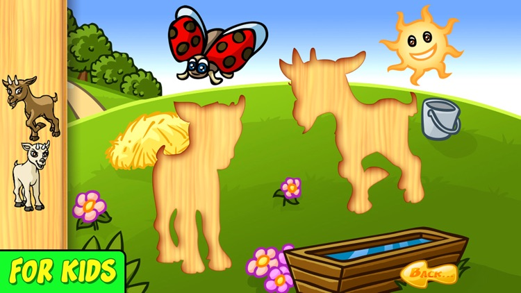 Animal Baby - Shape Puzzle for kids & toddlers