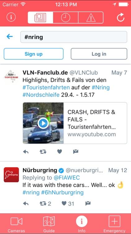 ringSPEED - Nürburgring Nordschleife Cams & Infos screenshot-4
