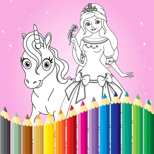 Prinzessin Malbuch Für Kinder Zeichnen Und Malen App