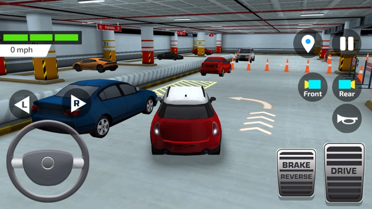 High School Driving Test – Car Driving and Parking screenshot-3