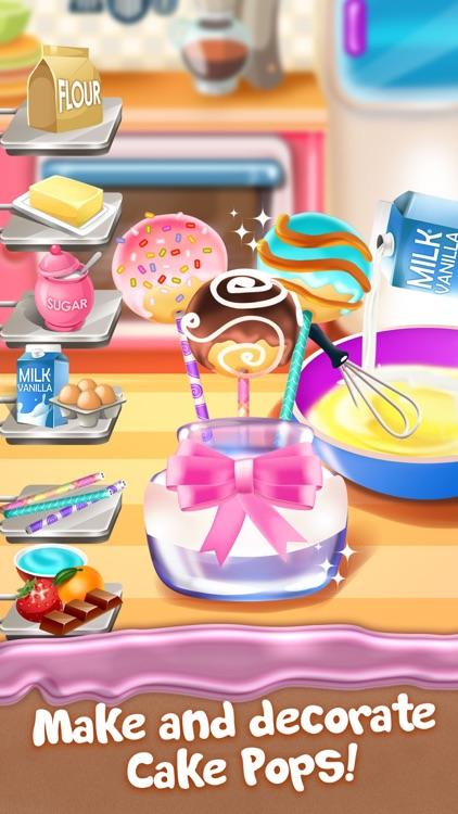 Cupcake Food Maker Cooking Game for Kids