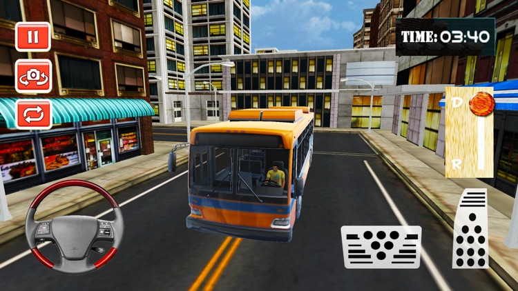 Mega City Bus Driver: Drive Buses On Urban Road