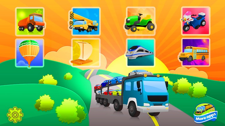 Trucks and Shadows Puzzles Games