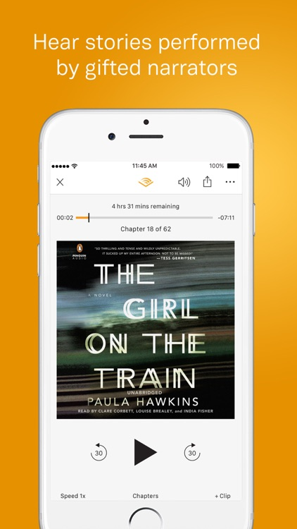 Audible – audio books, original series & podcasts screenshot-3