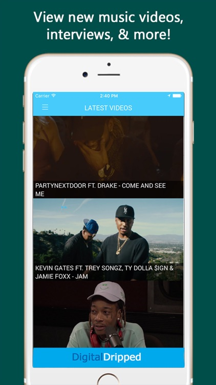 DigitalDripped Music, Mixtapes screenshot-3