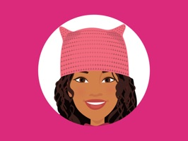 T'elle-Eva: Women's March Stickers