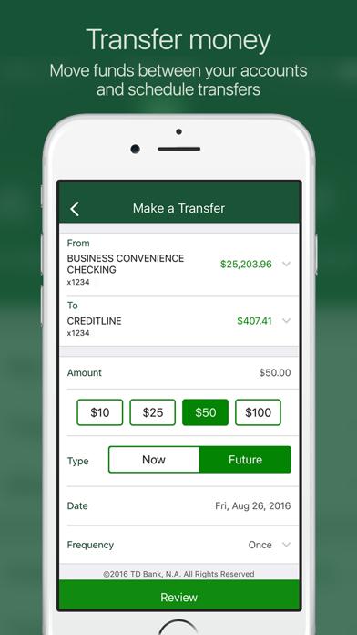 td bank app update