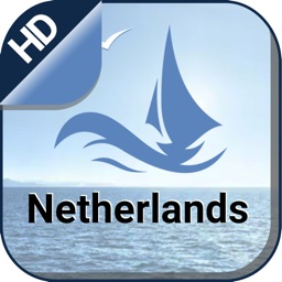 Netherlands gps Nautical offline chart for sailing