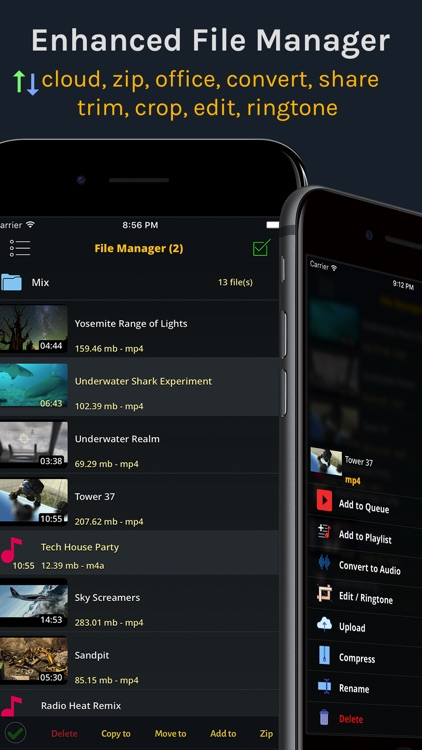 iVideo : Cloud Video Music Player