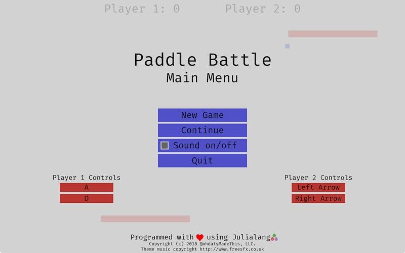 点击获取Paddle Battle