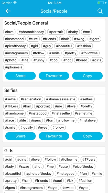 HashTag : #Tag For Instagram screenshot-5