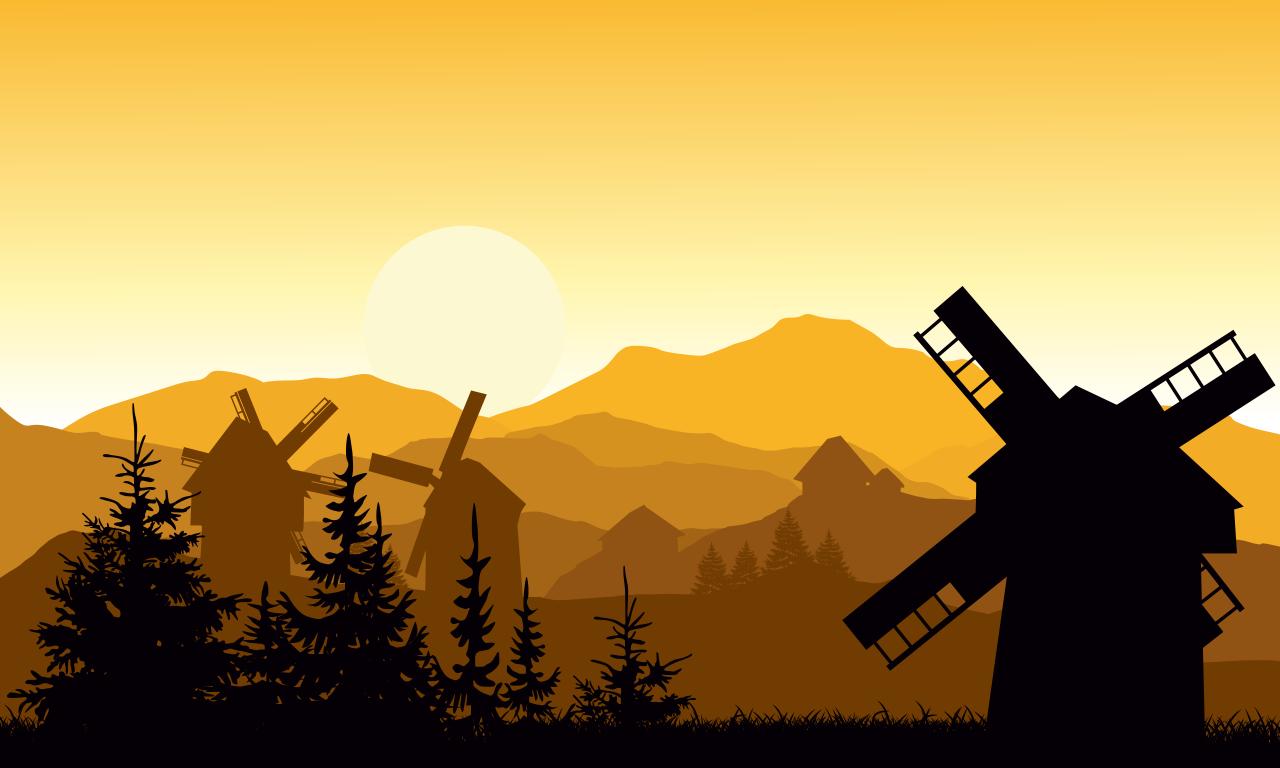 Countryside 4K by Magic Window