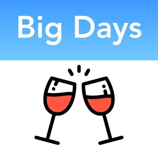 Big Days: Счет дней до событий