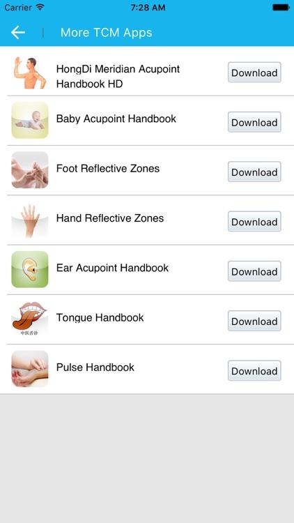 Meridian Acupoint Handbook HD screenshot-8