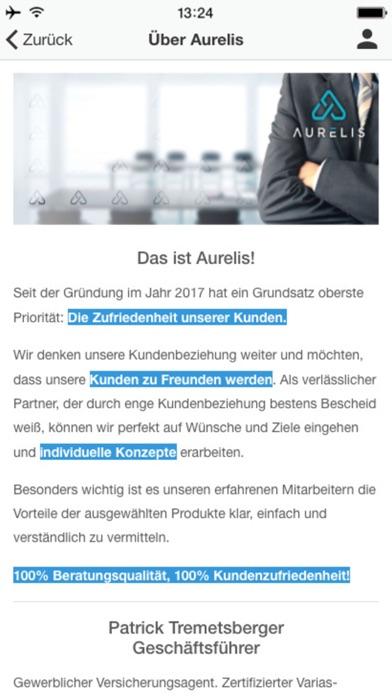 Aurelis GmbHScreenshot von 2