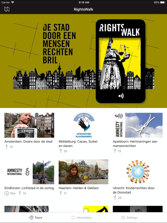 Amnesty RightsWalk-ipad-0