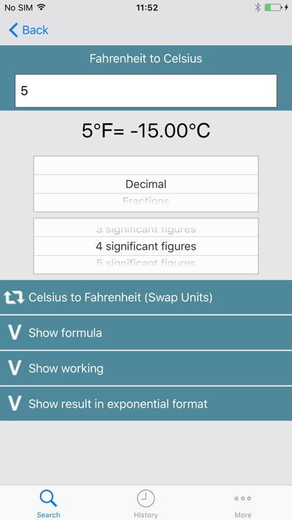 Metric Conversion tool screenshot-3