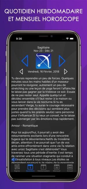 a7f0d3ecf14c75 Horoscope Astro dans l App Store