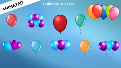 Animated Balloon Birthday Pack