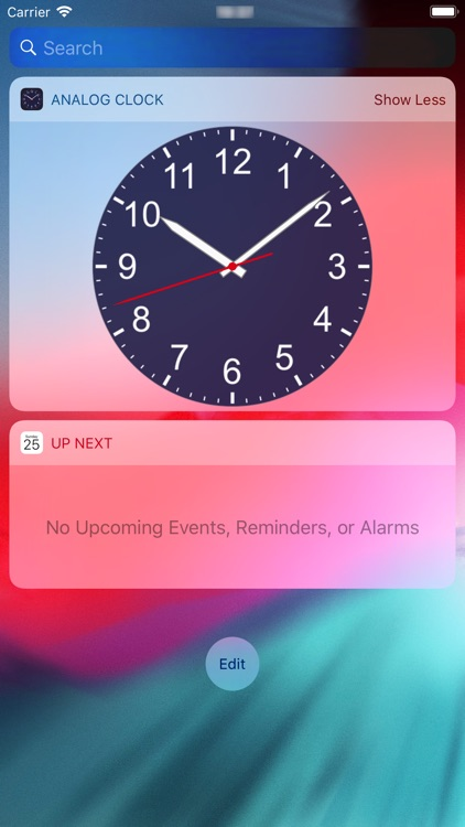 Analog Clock - Pendulum screenshot-3