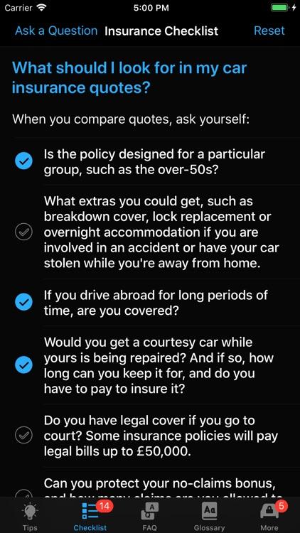 Car Insurance App screenshot-6