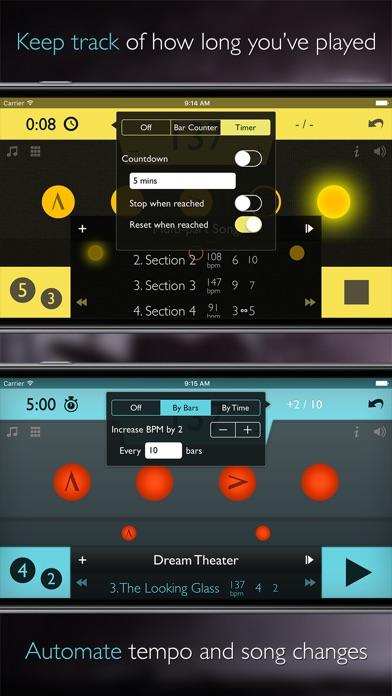 Tempo Advance review screenshots