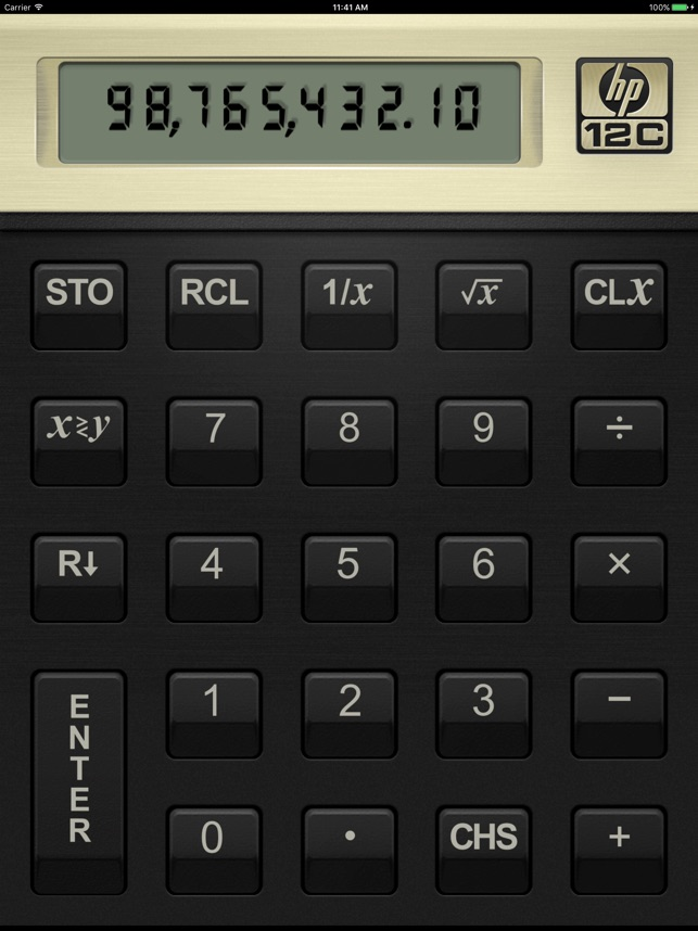 HP 12C Financial Calculator on the App Store