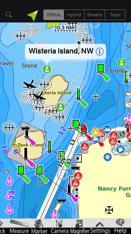 Ligurian GPS Nautical Charts screenshot-1