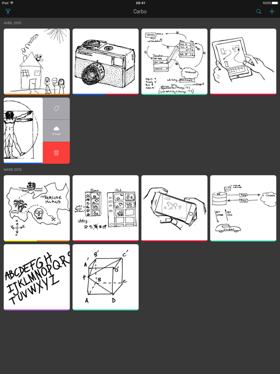 Screenshot #4 pour Carbo - Notes et dessins