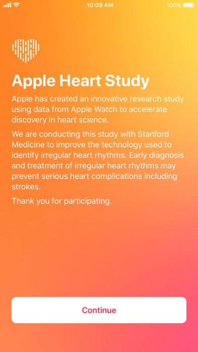 Apple Heart Study screenshot 1