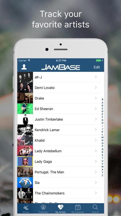 JamBase screenshot-3