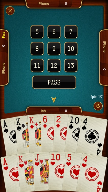 Batak - trick taking card game screenshot-2
