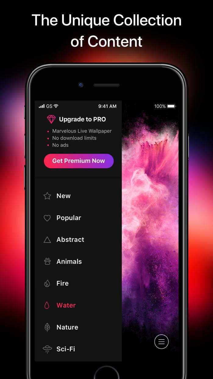 ภาพพื้นหลังไอโฟน – พื้นหลัง Screenshot