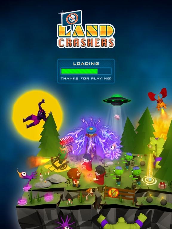 Screenshot 1 Land Crashers