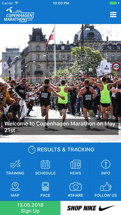 Telenor Copenhagen Marathon screenshot-0