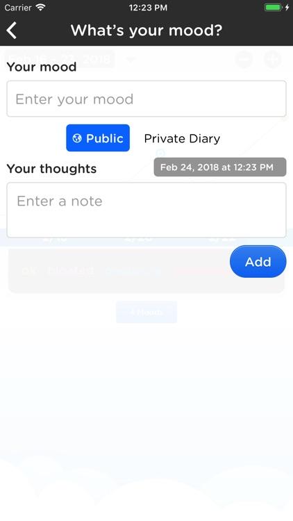Moodtrack Social Diary